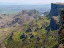 Cliffs and pinnacles