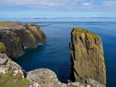 Stack 3 - view to the western isles