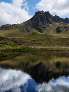 Reflections in the loch