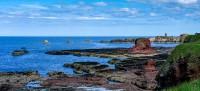 Dunbar - rocks and castle