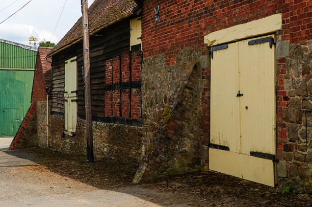 Harnage Grange doors