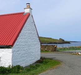A red roof