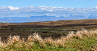 Fine views to the north-west Highlands