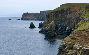 Stacks and caves