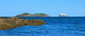 Craigleith and Bass Rock