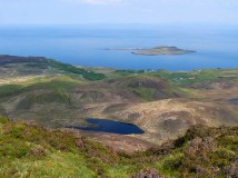 Loch Droighinn and Flodigarry Island