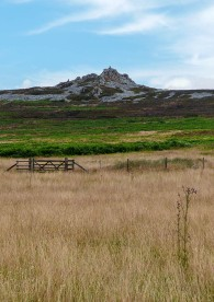 ...and the other way - Stiperstones