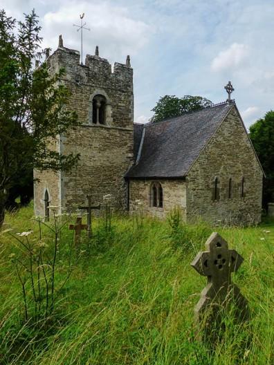 St Edith's church at Eaton