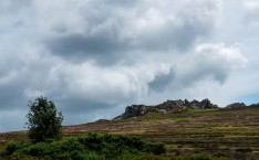 Looking stormy over the Devil's Chair