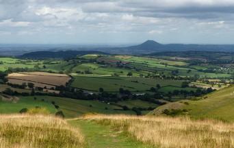 The distant Wrekin