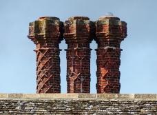 ... with splendid chimneys