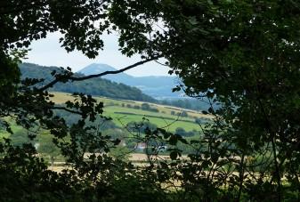 A glimpse of the Wrekin