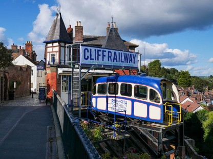 Top of the cliff railway
