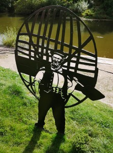 Harry Rogers, coracle man