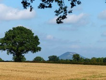 The Wrekin's back! (Couldn't see it yesterday)
