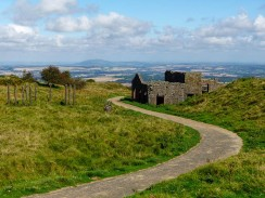 Ruins and the Wrekin