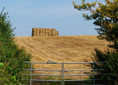 Tower of bales
