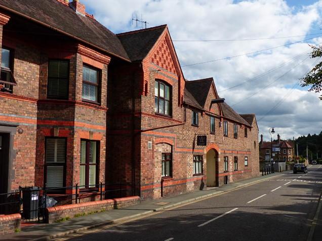 Bridgnorth Road brickwork