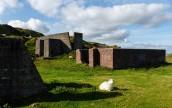 Derelict quarry structures