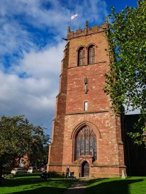 St Leonard's tower - a closer view