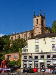 Church and old bank