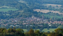 Look down on Ludlow
