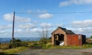 Dhustone shed