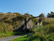 Remains of old quarry incline