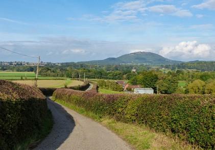 Wrekin from Belswardyne lane
